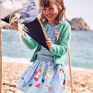 Mini Boden Girls Mermaid Skirt